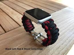 survival bracelet watches images Paracord apple watch strap survival straps JPG
