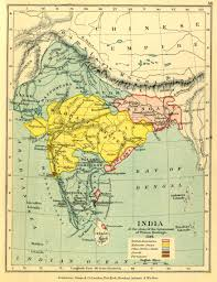 Bombay India Map by Gazetteer And Maps