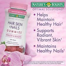 nature u0027s bounty hair skin and nails 230 gummies ebay