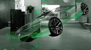 peugeot green peugeot vision gran turismo fantasy crystal home fly car 2015 el