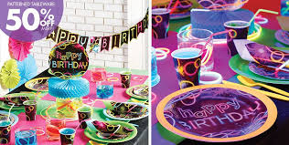 neon party supplies neon party supplies neon birthday party party city