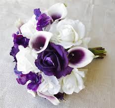 purple calla lilies heart picasso callas roses and hydrangeas bouquet