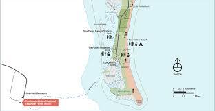 Cumberland River Map Camping Cumberland Island