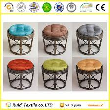 Papasan Chair Cushion Cover Plain Color Papasan Chair Cushion Round Wicker Chair Cushions