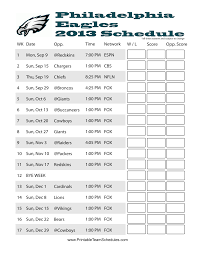 thanksgiving nfl football schedule philadelphia eagles 2013 nfl football schedule eagles nation