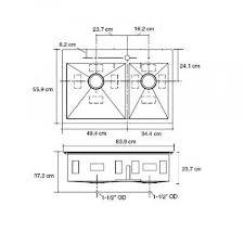 smart divide stainless steel sink vault 3839 1 na stainless steel offset smart divide two bowl kitchen