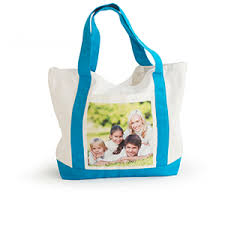make custom photo tote bags in canvas