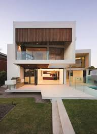 beautiful evening view from this house idea that represents the