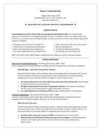 Sample Resumes For Sales Executives Sales Manager Achievements Resume Free Resume Example And
