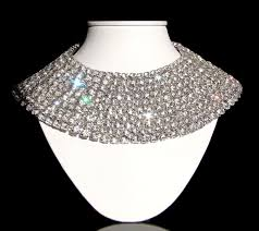 rhinestone collar necklace images Absolutely stunning huge vintage 1950s hattie carnegie rhinestone JPG