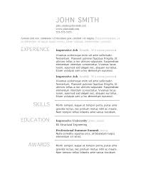 resume templates on word resume template word mac free resume templates template word