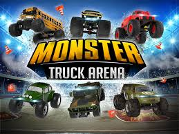 monster truck race track toys monster truck arena driver android apps on google play