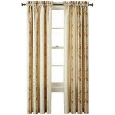 home expressions yellow kitchen curtains for window jcpenney