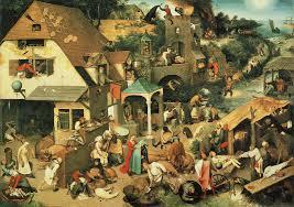Pieter Bruegel Blind Leading The Blind Pieter Bruegel The Elder Paintings