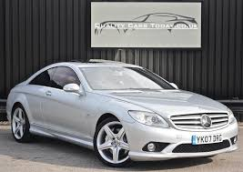 used 2007 mercedes benz cl for sale in south yorkshire pistonheads