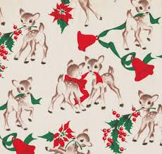 vintage wrapping paper vintage christmas wrapping papers happy holidays