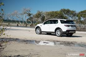 discovery land rover back 2017 land rover discovery sport hse td4 180 review performancedrive