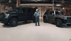 rhino xt jeep the monster ussv rhino visits jay leno u0027s garage