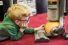 minn boy with rare syndrome has unusual love u0027all vacuums all