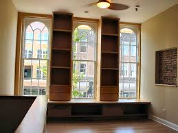 Bookcase To Bench Bookcase U0026 Bench Seat For Loft Apartment