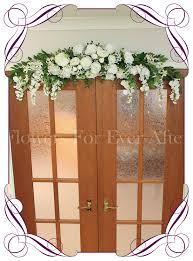 Wedding Arches And Arbors White Rose Peony U0026 Baby U0027s Breath Wedding Arbor Arch Table