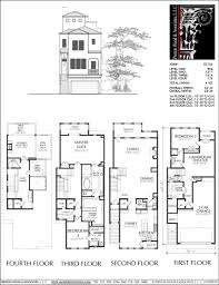 floor plan two storey two storey house design with floor plan elevation pdf townhome dwg