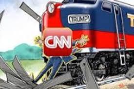 Train Meme - trump deletes retweet of meme showing cnn reporter being hit by a