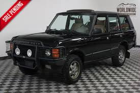 classic land rover for sale 1994 black 127k auto ac range rover classic for sale photos