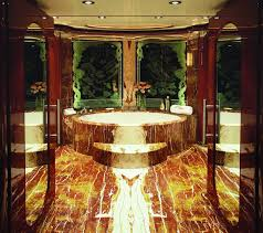Bathroom Bathroom With Jacuzzi And Monaco Yacht Show Allegria Yacht With 5 Cabins Jacuzzi Photos