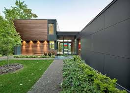 Modern House In Country T House In Quebec Canada Home Design Ideas Diy Interior