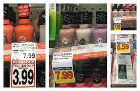 new sally hansen coupons u003d as low as 0 99 nail gel at kroger