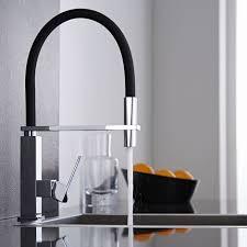 mitigeur noir cuisine hudson reed mitigeur de cuisine avec douchette design moderne