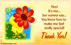 thank you e card a special thanks free thank you ecards greeting cards 123