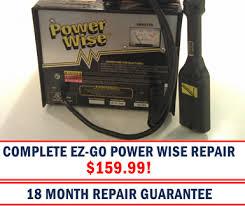 ez go powerwise charger repair industrial repair group irg