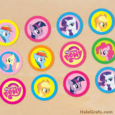 my pony cupcake toppers printable my pony cupcake toppers