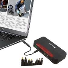 600amp jump starter with air compressor laptop charger 21000 mah