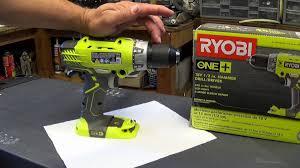 ryobi p214 18v hammer drill review youtube