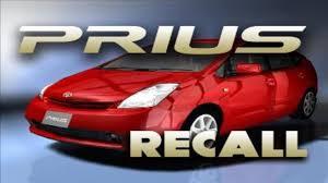 toyota prius brake recall toyota recalls 340 000 prius cars for brake problem