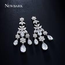 teardrop chandelier earrings newbark three tassel chandelier earrings inlay big teardrop