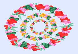 hawaiian leis free hawaiian leis watercolor vector free vector