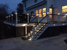 Trex Lighting All American Decks Expert Trex Deck Builders Morris County N J