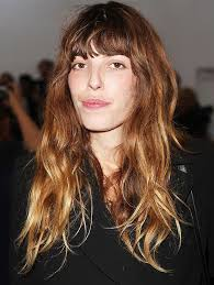 hair style for a nine ye the go to hairstyle all french women love messy bangs bangs and