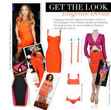 orange bandage dress blog houseofcb com