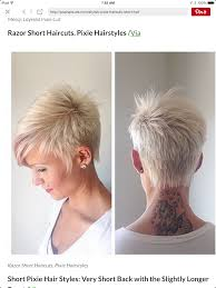 very short razor cut hairstyles the back is a little bit too short otherwise perfect pixie