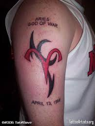 34 best red aries tattoos images on pinterest tattoo ideas
