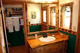 cabin bathrooms ideas log cabin bathroom ideas lodge decor office and bedroom buildmuscle