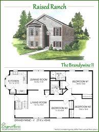 ranch modular home floor plans raised ranch signature building systems custom modular home