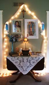 243 best catholic home altars images on pinterest mother mary