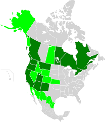 Map Of Canada And United States by Western Climate Initiative Wikipedia