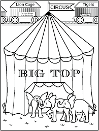 Circus Clown Coloring Pages Joomla Circus Coloring Page